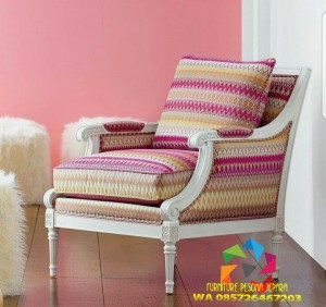 kursi sofa singgel finishing duco murah