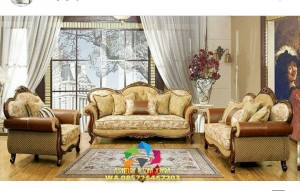 kursi tamu sofa finishing natural